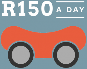 From as little as R150 a day on a long-term car hire